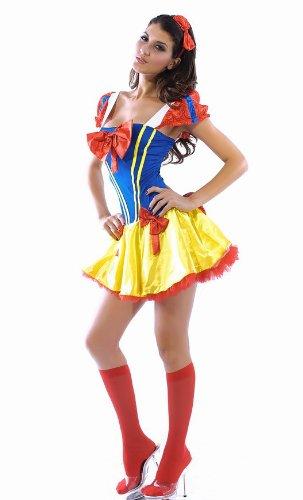 Schneewittchen Kostüm Snow White Princess Gr. (Snow Kostüme Erwachsene White Prinzessin)