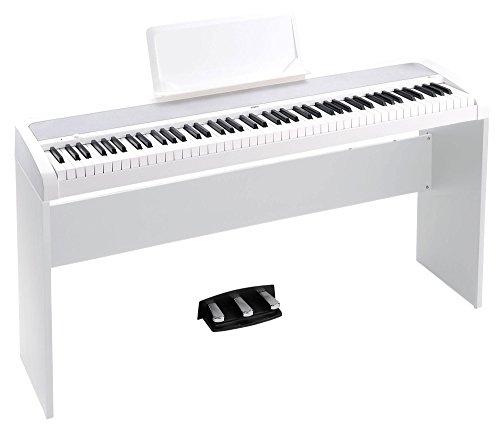 Korg b1spwh Concert de Piano 'Slim Line 8sons, speaker System avec Technologie motional Feedback