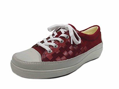 Christian Femme à de 9371951 14 Dietz Ville Pour Rouge Lacets Chaussures rqP4OrwnxC