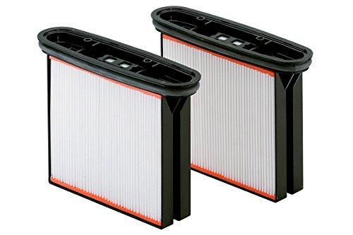 Metabo 631934000 Satz - 2 Filterkassetten, Polyester für ASA 2025, ASR 2025, ASR 2050, SHR 2050 M