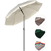 sekey sombrilla cm parasol para terraza jardn playa balcn piscina patio color