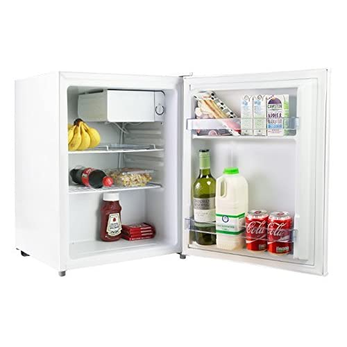 41VCzS0xtqL. SS500  - iceQ 70 Litre Compact Counter Top Table Mini Drinks Fridge in White A* Rated