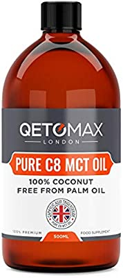 Extra Pure C8 MCT Oil Parent from Qetomax