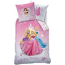 Princesa–Funda de edredón (140x 200) + funda de almohada (63x 63)–Juego de cama Windsor