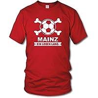 shirtloge - MAINZ - Ein Leben Lang - Fan T-Shirt - Größe S - 3XL