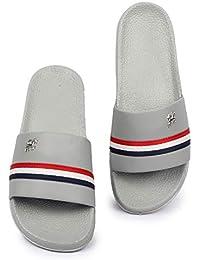 Shoe Mate Latest Comfort Flip-Flops Grey, Black, White, Red Colors Men's Slipper