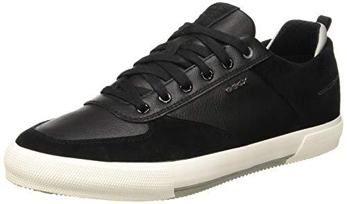 Geox Herren U Kaven a Sneaker, Schwarz (Black C9999), 44 EU Geox Trainer
