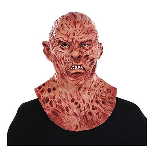 Kostüm Für Erwachsene Trauer - LH Zhenzhi Halloween-Maske Trauer Beängstigend Latex Maske Für Party