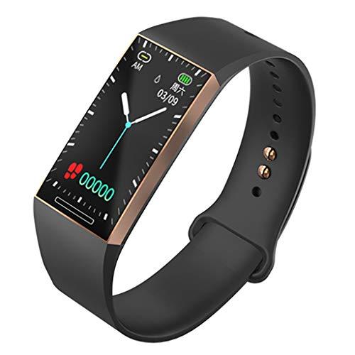 VBWER Orologi intelligenti, Bluetooth Smartwatch Impermeabile Bracciali Fitness Tracker Cardiofrequenzimetro da Polso Pedometro per iOS Android iPhone
