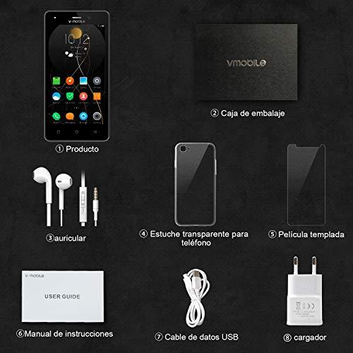 Telefono Movil Libres Baratos 4g 8Pcs V Mobile A10 5.0
