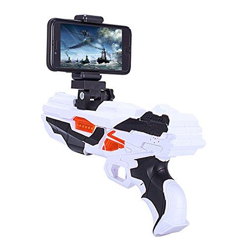 88b179b48178 HAIT AR Game Gun Bluetooth Virtual Reality Game Gun 360° AR Bluetooth  Target Game Enhancement