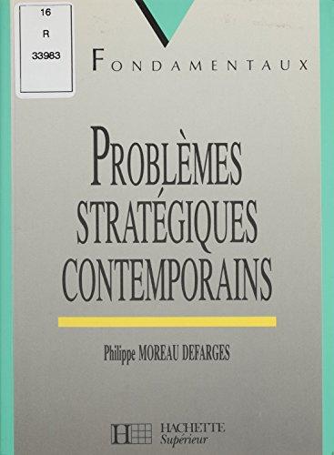 Problèmes stratégiques contemporains