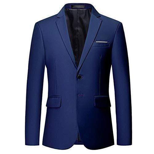 Youthup elegante blazer giacca da uomo giacca stile casual slim fit