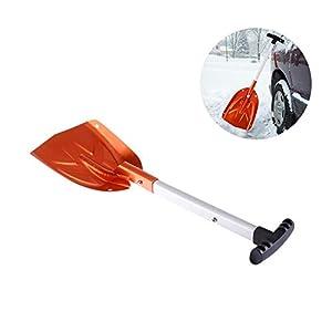 nicololfle Sonw Schaufel, Mini Military Outdoor-Werkzeug für Camping, Backpacking, Auto-Notfall, Angeln, Gartenarbeit, Graben