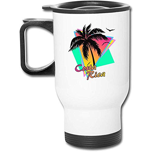 Little Yi Costa Rica Edelstahl Travel Mug Becher Tee Tasse Kaffee Auto Tasse