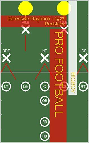 Pro Football: Defensive Playbook - 1977 Redskins (Championship Playbooks 12) (English Edition) por Bigboy