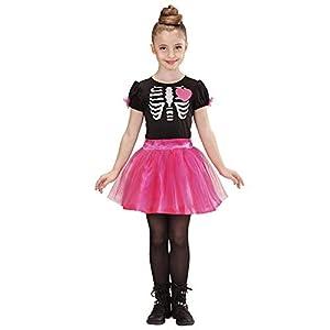 WIDMANN 02218 - Niño Traje de la Bailarina Esqueleto, Vestido, tamaño 158