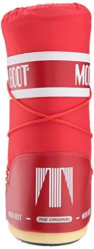 Moon Boot 140044, Stivali Invernali Unisex Rosso (Rosso)