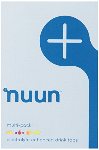 41VD6BOwGIL - Nuun Active Hydration Lemon Lime/ Citrus Fruits/ Tri Berry/ Orange Ginger Flavoured Tablets Tube Pack of 4
