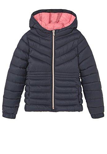 mango-kids-anorak-matelasse-veste-impermeable-taille5-6-ans-couleurbleu-marine-fonce