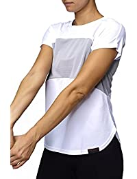 Sundried Womens Yoga Gym Fitness Top Work Out Training T-Shirt