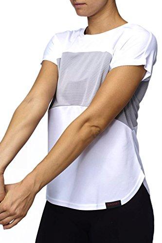 Sundried Damen Top für Training und Laufen Gymwear für Frauen (X-Large)