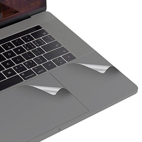 Lention Palm Rest Cover Haut mit Trackpad Protector für MacBook Pro (15-Zoll, 2016-2019), mit Thunderbolt 3 Ports und Touch ID, Schutz Vinyl Aufkleber Aufkleber (Space Grau) (Computer Pro Macbook Skins)