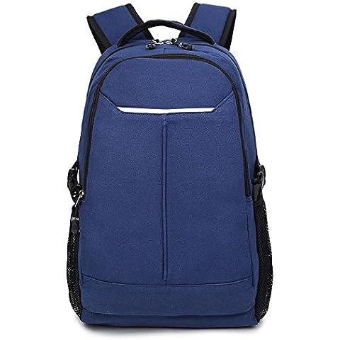 Lienzo escuela Colegio mochila mochilas deportes viaje mochila para estudiantes/niños/hombres