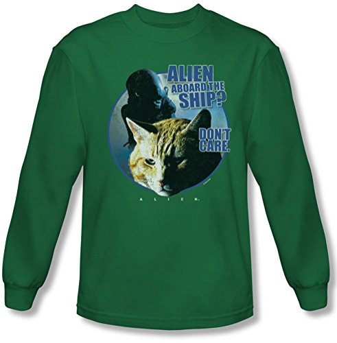 Alien - Herren Jonesy Longsleeve T-Shirt Kelly Green