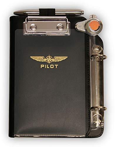 Design4Pilots - Cosciale / Pilot Kneeboard-Organizer 'Piccolo Profi' A6, black