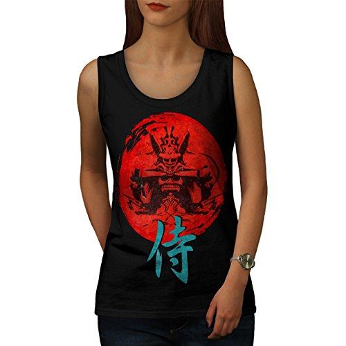 japonais-rouge-symbole-asiatique-femme-nouveau-noir-xl-debardeur-wellcoda