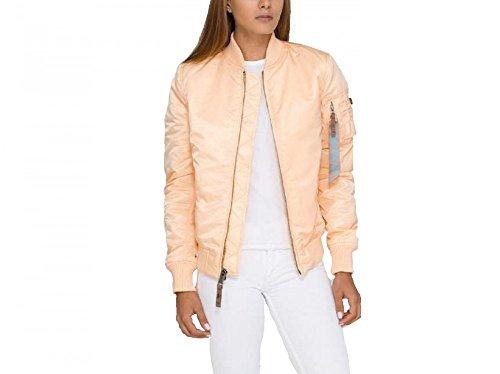 Alpha Industries MA-1 VF 59 Women Jacket Bomberjacke 133009, Größe:S;Farbe:apricot