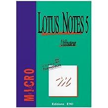 Lotus Notes 5. Utilisateur