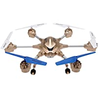 Goolsky HUAJUN W609-9 4.5CH 2.4G with Six Axis Gyro RTF RC Super Alloy Hexacopter Drone(Middle Size)With 0.3MP Camera