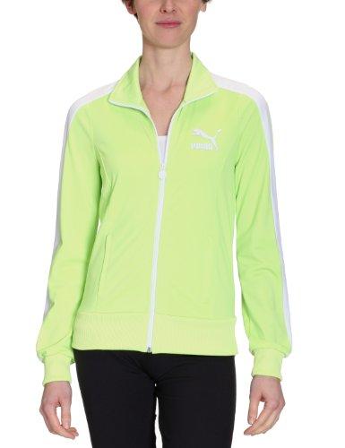 PUMA Damen Jacke T7 Track Jacket sharp green