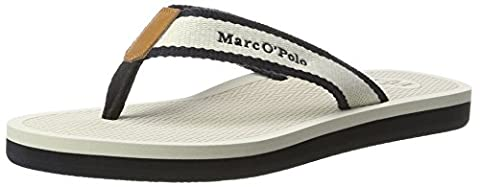Marc O'Polo Damen 70314031001611 Beach Sandal, Weiß (Cream), 39 EU