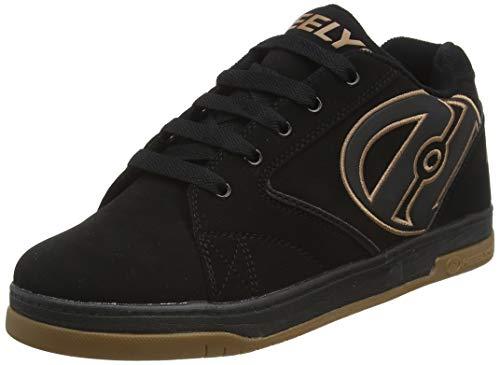Heelys, Zapatillas Unisex niños, (Black/Black Gum), 35 EU