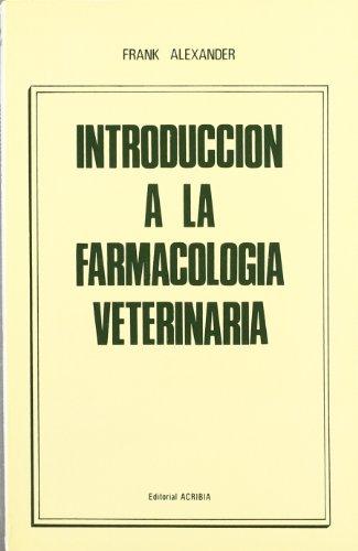 Introducción a la farmacología veterinaria