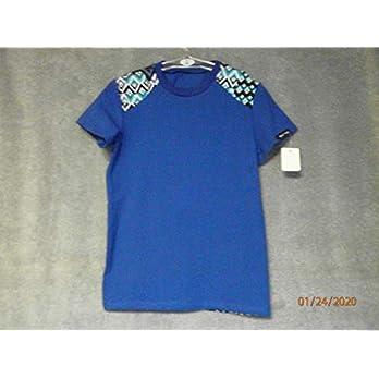 Kurzarm T-Shirt Marineblau