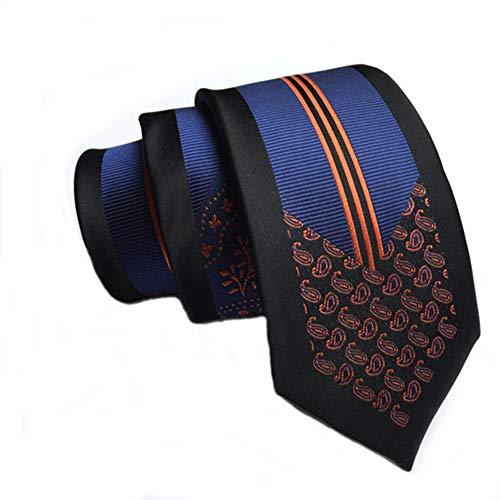 pinyuoo Herren Krawatte Slim Ties 2,36 Zoll Klassische Krawatte - - Einheitsgröße - Slim-krawatte Tie