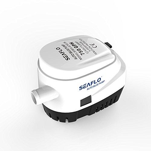 Pompa sommergibile per acqua di sentina automatica SEAFLO 12V 750GPH automatico con interruttore galleggiante per Marine RV barche