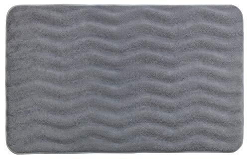 Kleine Wolke Textilgesellschaft 5426179534 Tapis de Bain Polyacrylique 80 x 150 cm Gris Clair
