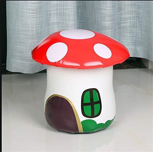 Kinder Hocker, Sofa Pilz Hocker Startseite Kreative Baby Runde Hocker Persönlichkeit Kinder Kleine Bank Mode Niedlichen Erwachsenen Schlafzimmer (Farbe : EIN) -
