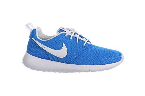 Nike Rosherun (GS) Unisex-Kinder Laufschuhe blau / weiß