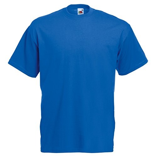 Fruite of the Loom Valueweight T-Shirt, vers. Farben S,Royal Blau - Royal Blau S/s T-shirt