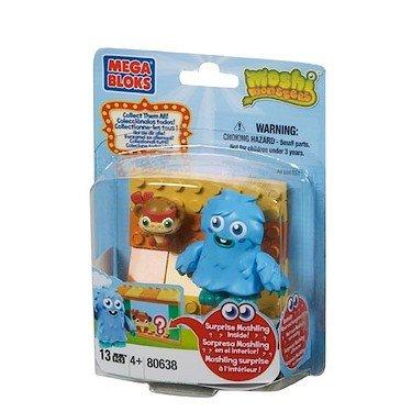 Mega Bloks MEGABLOKS-80638u-Spiel-Bau-Zoo Moshling und Furry