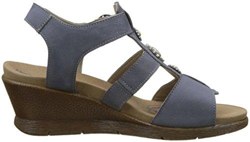 Romika Nevis 12, Zoccoli Donna Blu (Jeans)