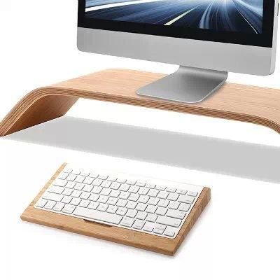 Seat-stand (Samdi Tastaturständer bamboo stand with keyboard seat Bamboo stand with Keyboard Stand)