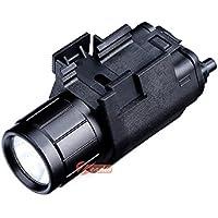 zeadio Linterna eléctrica LED y Visor de Punto rojo, Composición de 2-en-1 con Adaptador intergrado rápido desmontable para riel de Picatinny/Weaver, FLT-LAS03