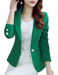 5d7f0a72b563 Damen Anzug Frühling Herbst Fashion Hübsch Trendigen Party Stil Normallacks Elegante  Mantel Business Blazer Langarm Revers